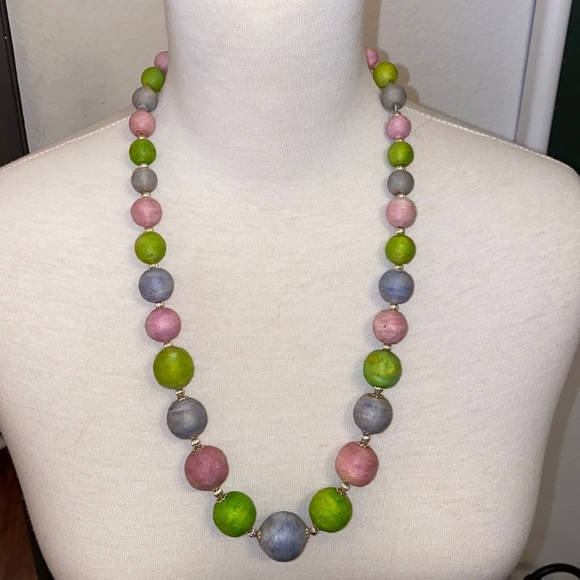🔥Vintage Pastel Beaded Necklace🔥